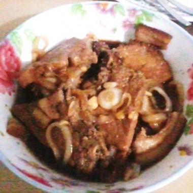 Filipino Pork Steak