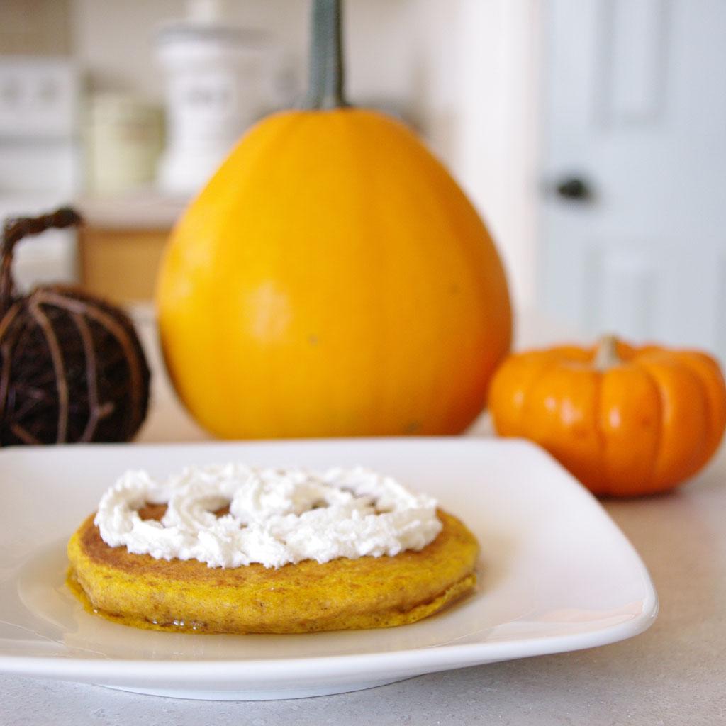 Delious Pumpkin Oat Pancakes
