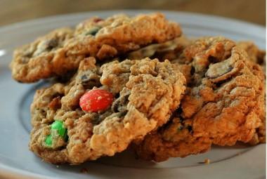 Oreo m&m cookies