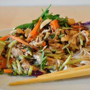 Thai Chicken Noodles Salad