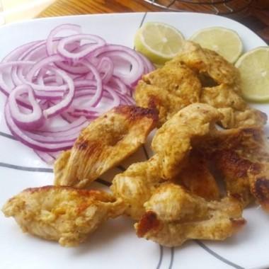 Chicken malai kabab