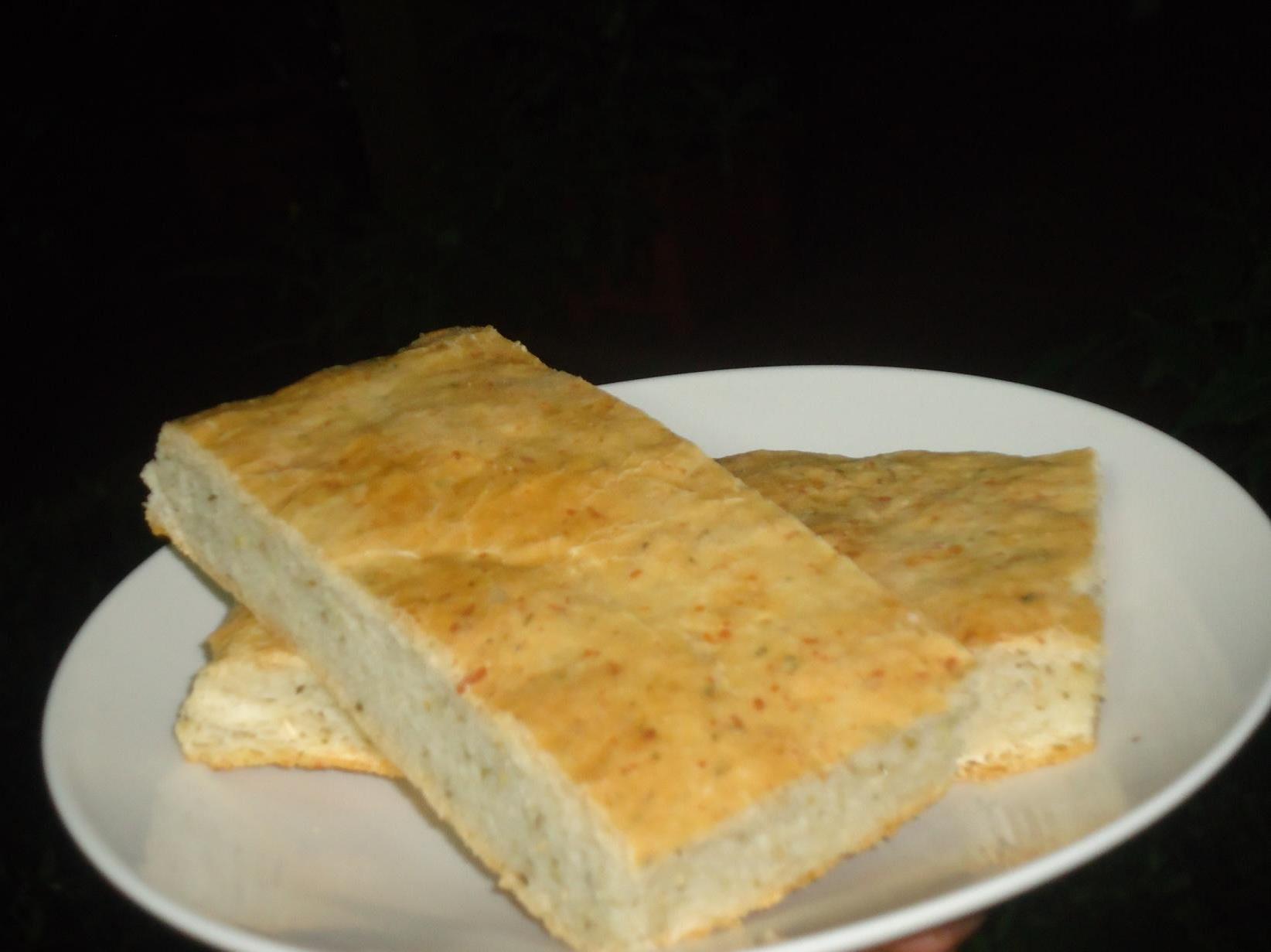 Pan ciabatta con oregano
