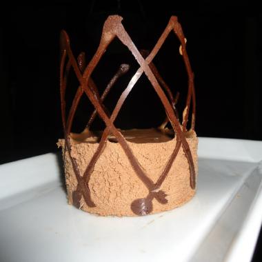 Royal Chocolate Mousse pin