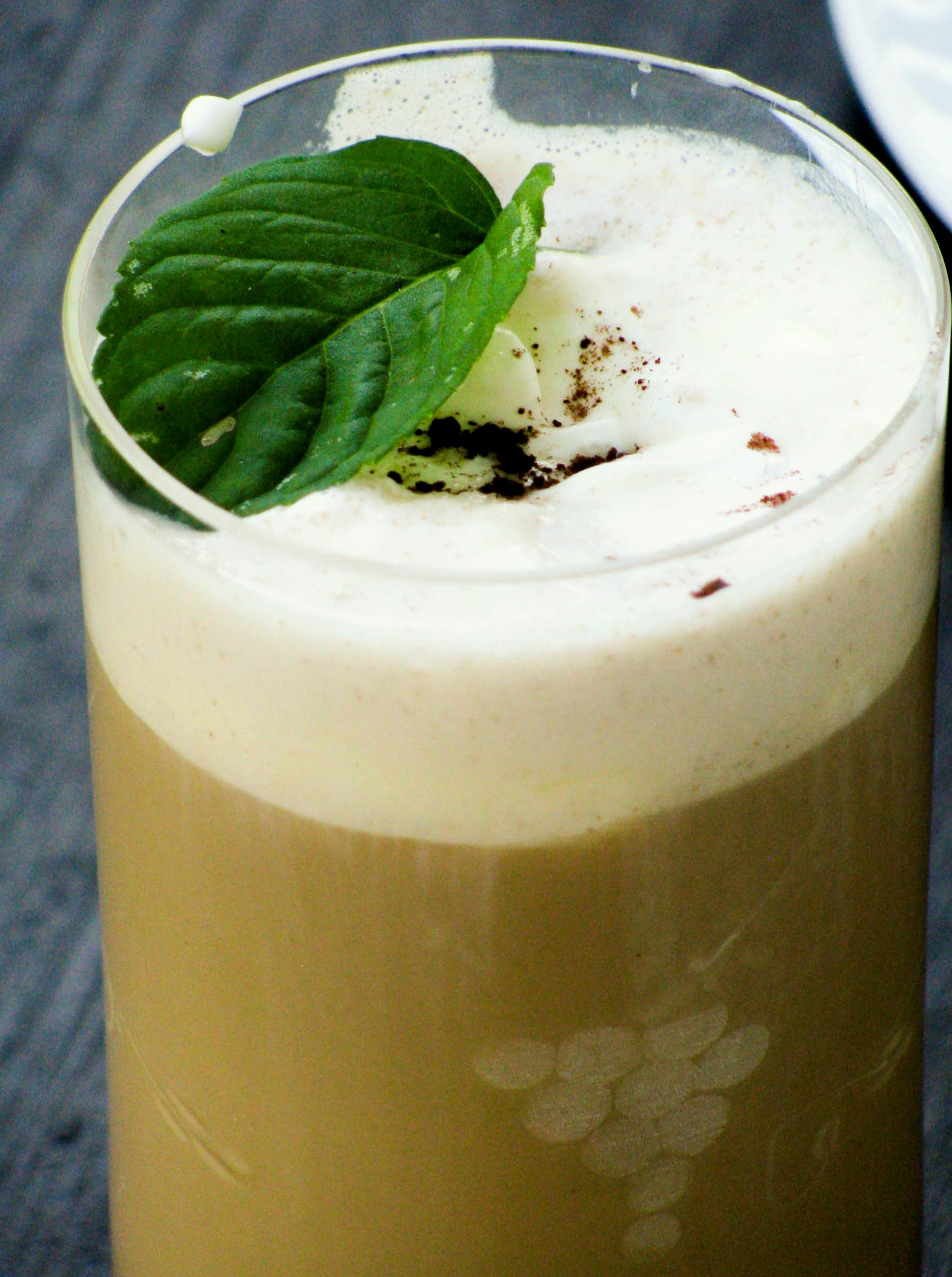 Spicy Ice Almond Milk Coffee Recipe