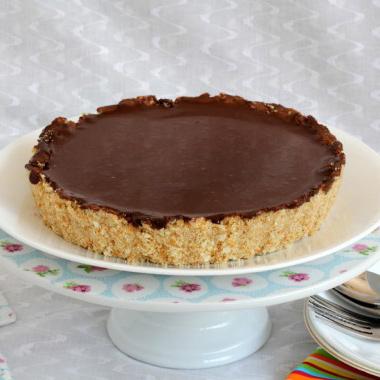 bake-chocolate-cheesecake