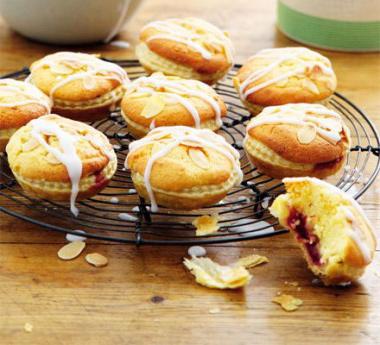 Cherry almond tarts recipe
