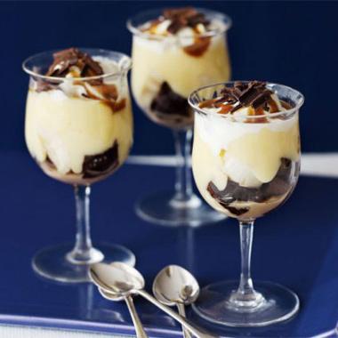 Banana trifles recipe