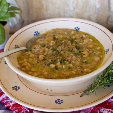 Chickpea Farro Italian Soup Recipe
