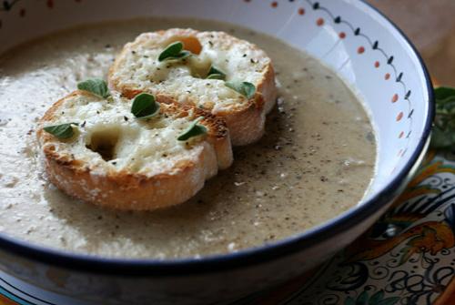 Porcini Farro Soup recipe