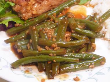 steamed-green-beans