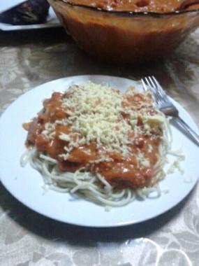 Filipino Spaghetti