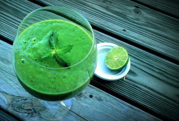 spinach-mojito-smoothie