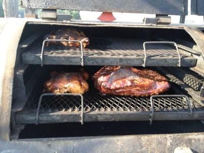 bbq smoked chicken