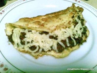 Asian Sisig Omelette