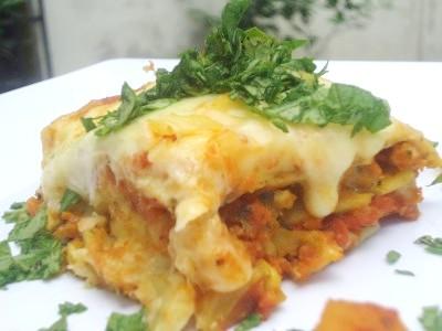 Chicken Lasagna with Radish Recipe