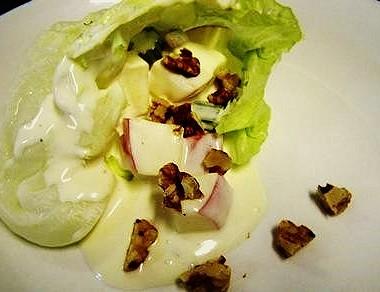 waldorf salad dressing