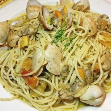 pasta white wine sauce