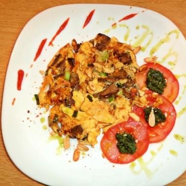 Beef Liver Omelette