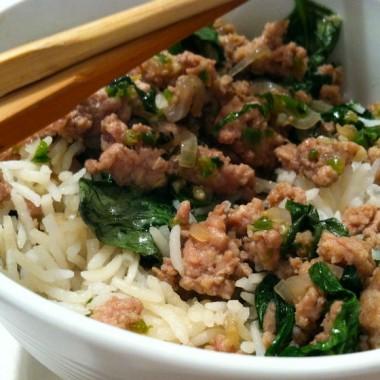 Thai Turkey and Rice Recipe