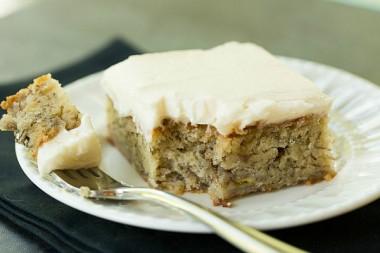 Banana Snack Cake