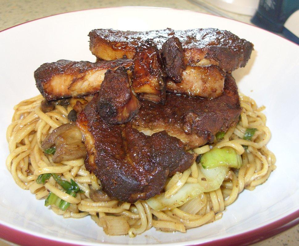 Char Sieuw pork noodles 2