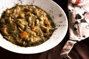 Homemade Creamy Mushroom Soup Recipe
