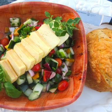 Greek Limburger Cheese Salad