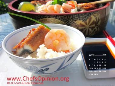 Calendar April International