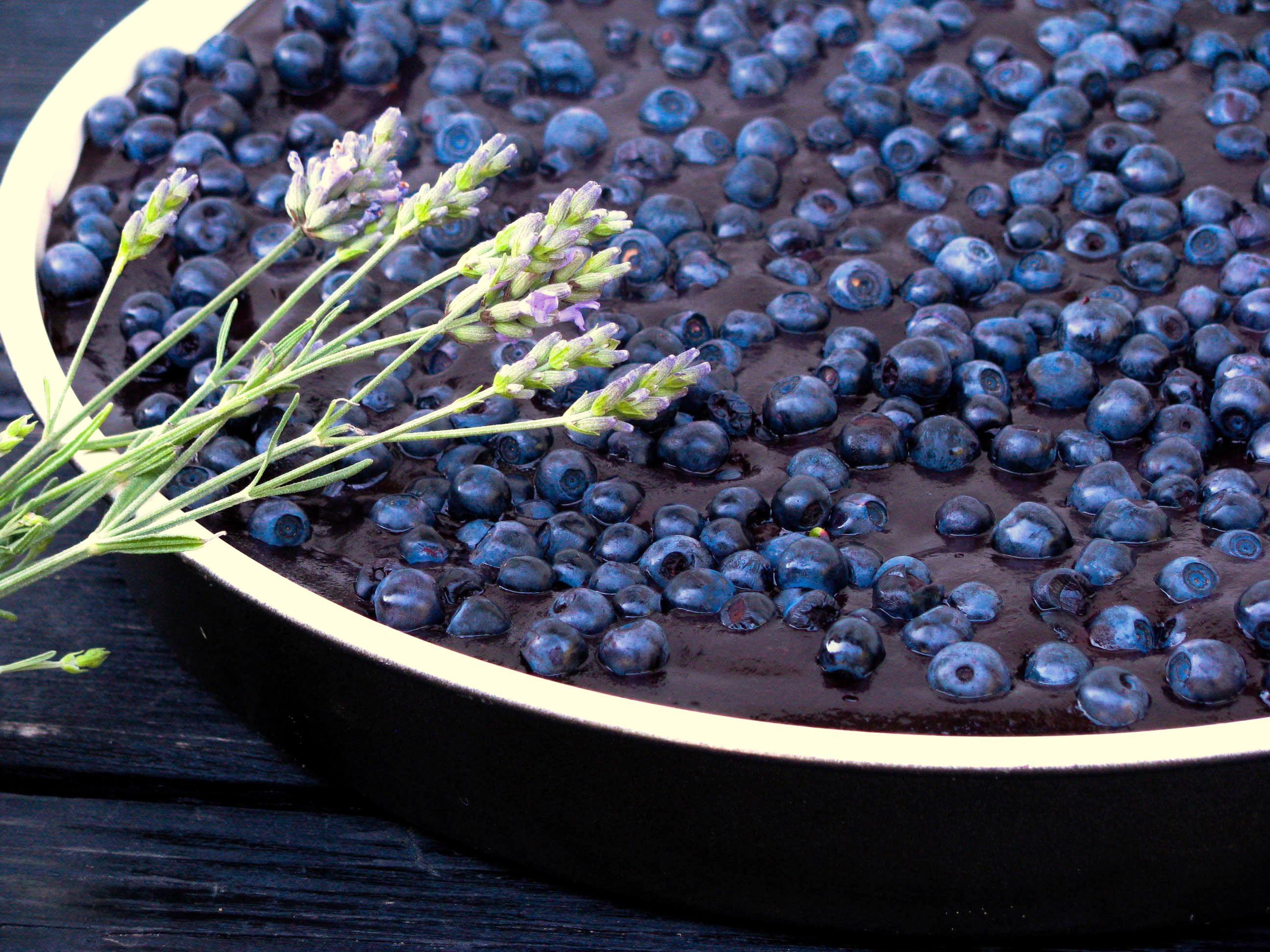 Julka's blueberry pie